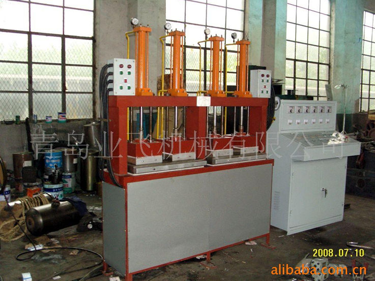 Instrument pad vulcanizing machine