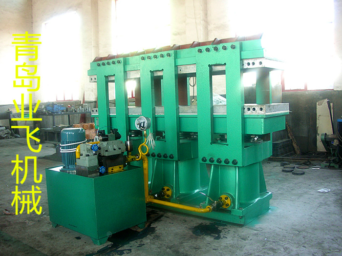 Frame type plate vulcanizing machine