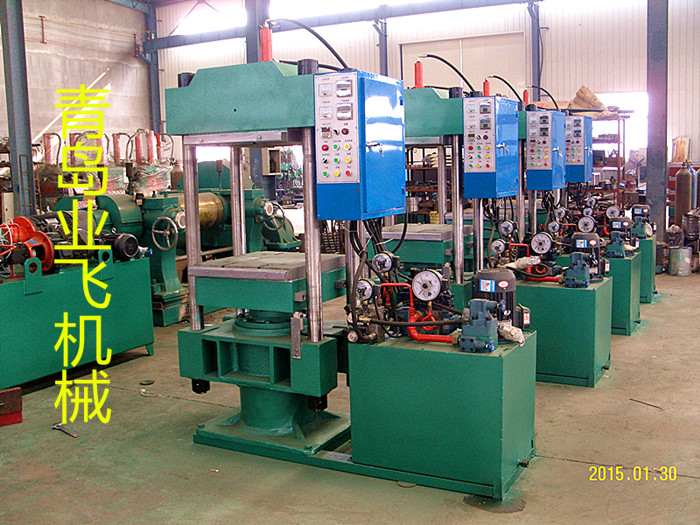 Electric control curing press