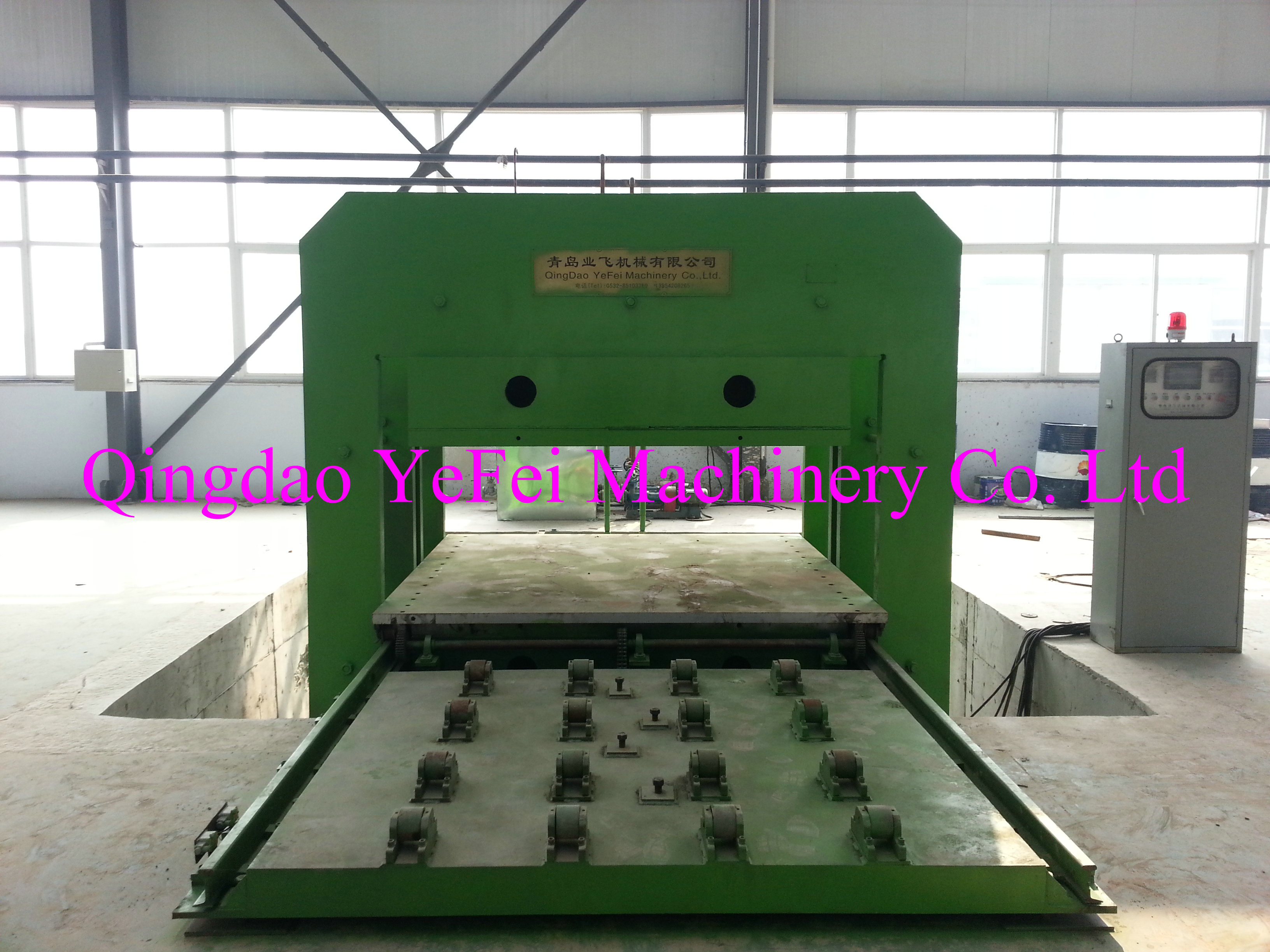 Automatic Push-pull Mould vulcanizer